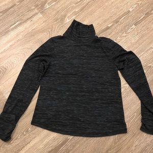 PrAna dark grey turtle neck size medium EUC